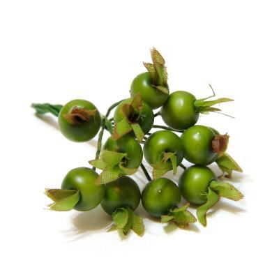 Ягодки маленькие зеленого цвета