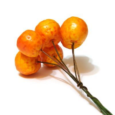 Искусственные мандаринки