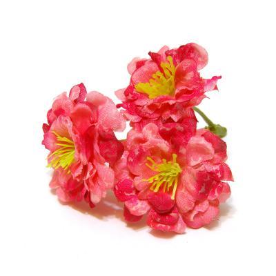 Розочки розовые ткань