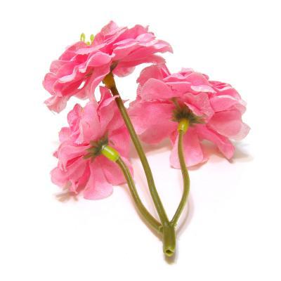 Розовые головки цветов