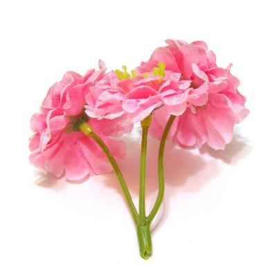 Розовые розочки для декора