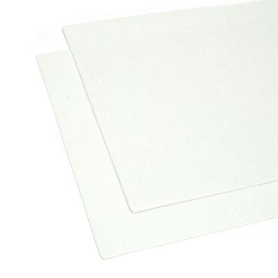Фетр белый листовой