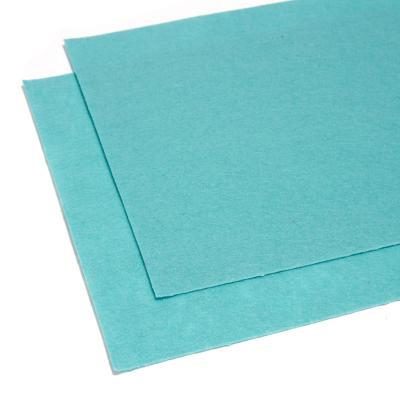 Фетр голубой листовой