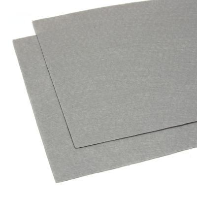 Серый листовой фетр