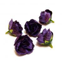 Розочки фиолетовые головки