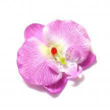 Головки орхидей сиреневые