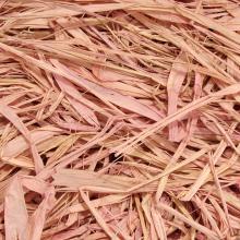 Рафия бледно-розовая