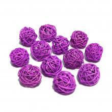 Мини шарики фиолетовые