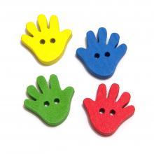 Декоративные пуговицы для детского творчества