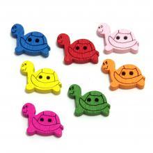 Пуговицы черепашки для детского творчества