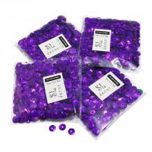 Пайетки голографические фиолетовые