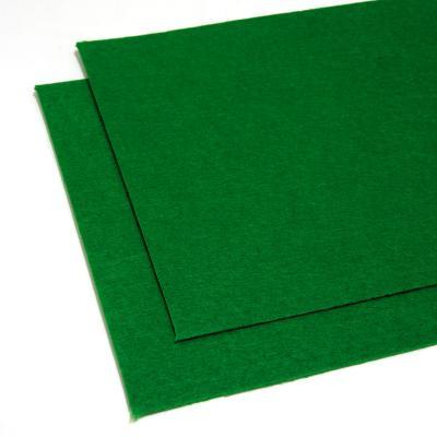 Фетр зеленый листовой