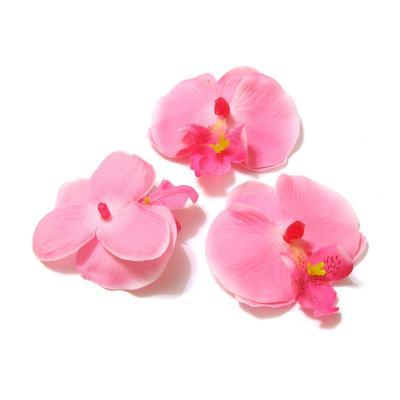 Головки орхидей из ткани