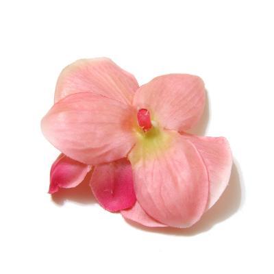 Головки розовых орхидей