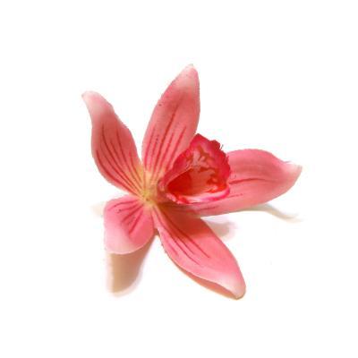 Головки орхидей розовые