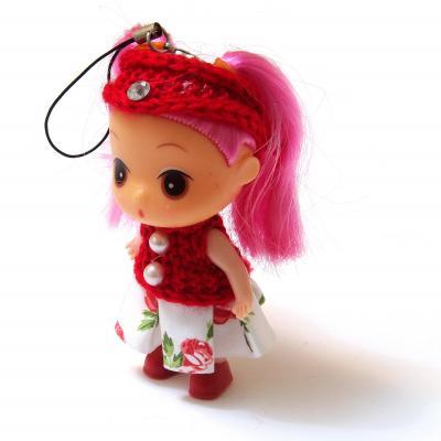 Куколка для сумочки маленькая