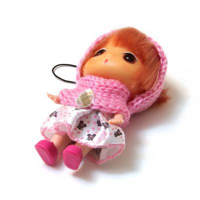 Кукла брелочек для девочки