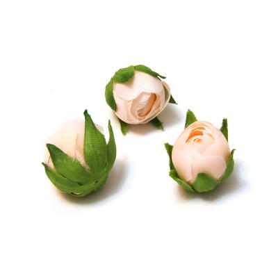Бутоны роз персиковые