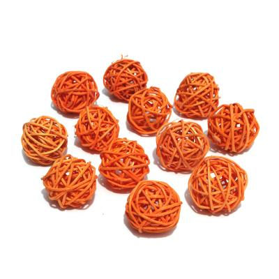 Шарики оранжевые маленькие