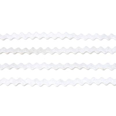 Тесьма из фетра белая