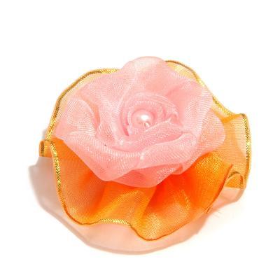 Головка розы органза