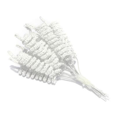 Спиральки декор мини белые