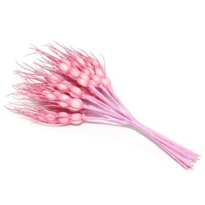 Искусственные розовые колоски для декора