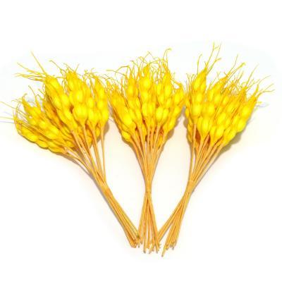 Колоски желтые декоративные искусственные