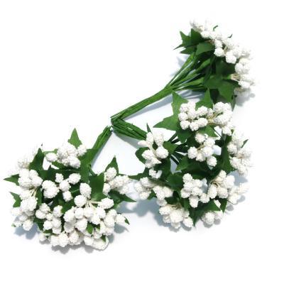 Белые декоративные веточки свадебные