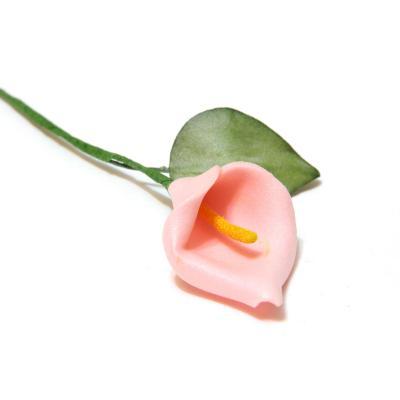Кала мини светло-розовая