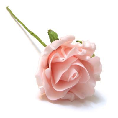 Розы из латекса головки розовые