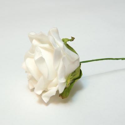Розочка белая свадебная недорого