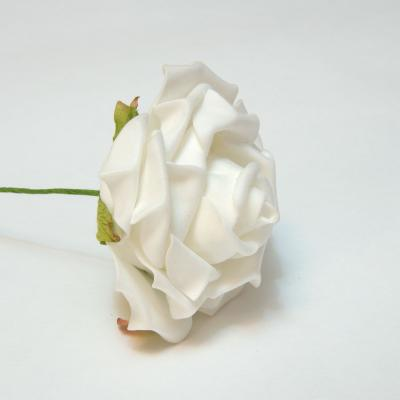 Розочки из латекса белые