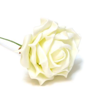 Кремовые розы из латекса