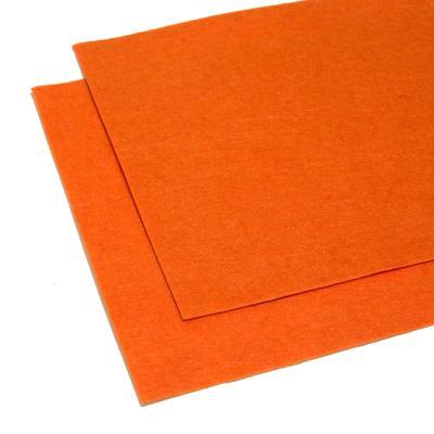 Фетр оранжевый листовой