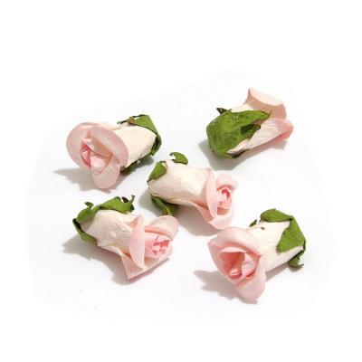 Бутоны розочек мини розовые