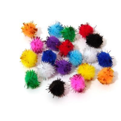 Помпоны маленькие для изготовления игрушек