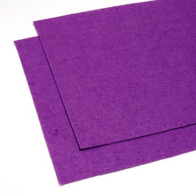 Фетр фиолетовый листовой