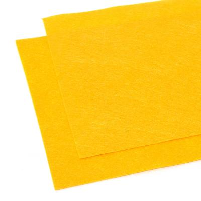 Фетр желтый листовой