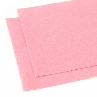 Фетр розовый листовой